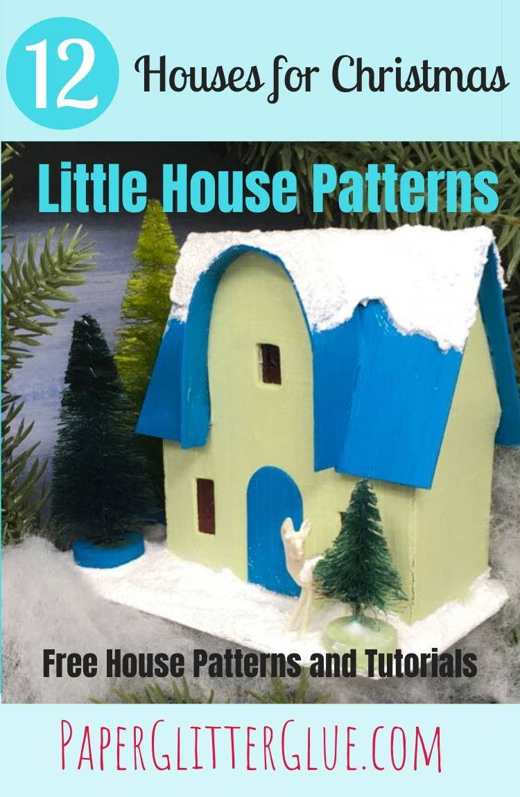 12 Houses for Christmas arch front house