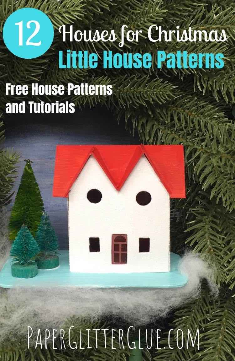 12 Houses for Christmas Paper House No 3