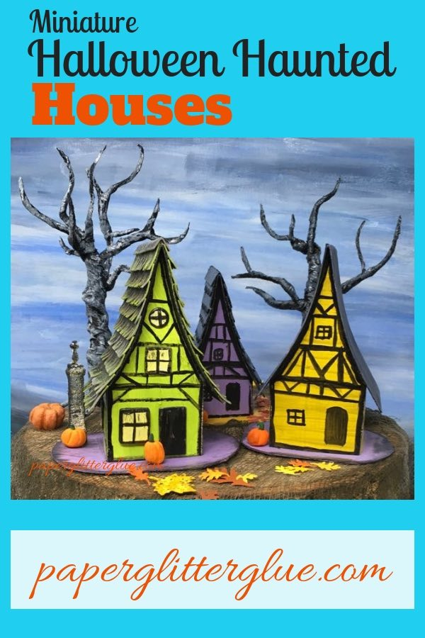 13 Days of Halloween Medieval Haunted Paper House