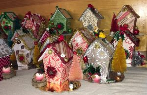 Gifts birdhouse ornaments