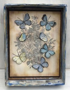How to Make a Butterfly Vintage Print – Variation on a Theme