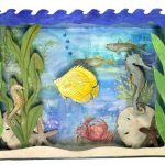 "Frame added to ""Under the Sea"" shadow box"
