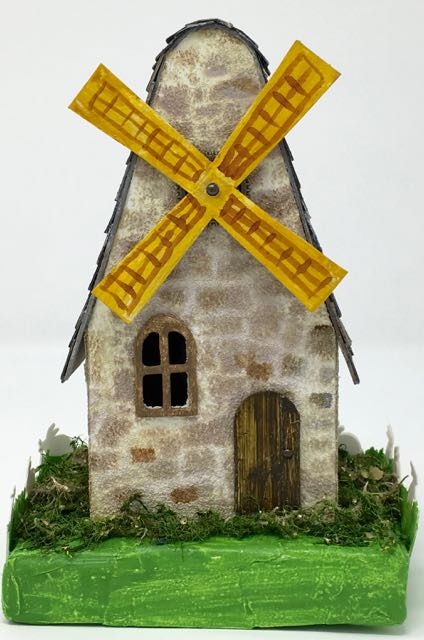 Close-up of Windmill Putz house
