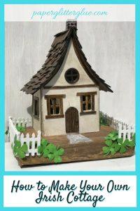 Irish Cottage for St. Patrick's Day