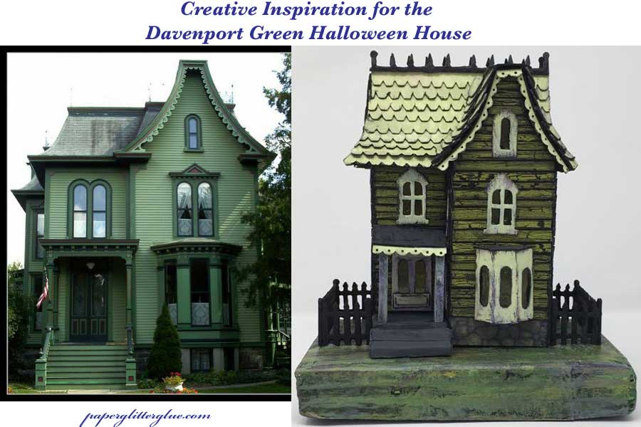 Davenport Green Halloween house inspiration