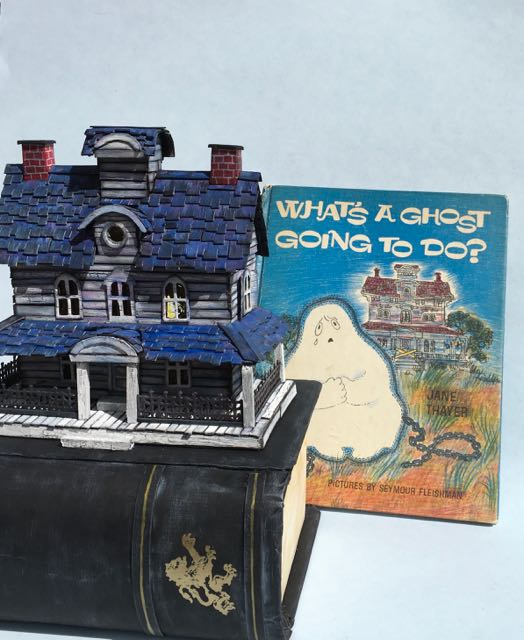 Front view of Gus the Ghost's House