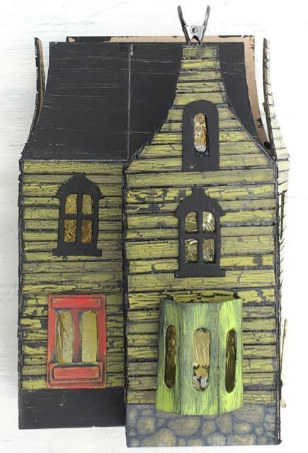 Windows for the Halloween house