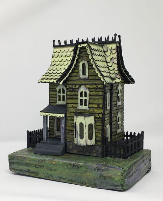 Davenport Green Halloween House