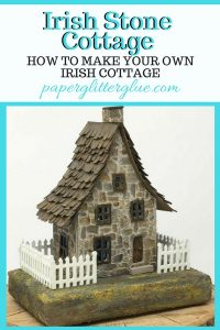 Irish Stone Cottage Front view pin