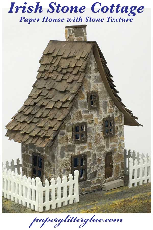 Irish Stone cottage pin