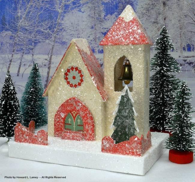 2020 miniature holiday house Howard's church