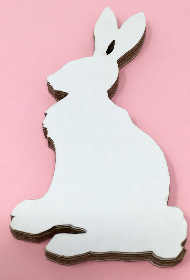 8 layers cardboard Easter Bunny Decoration