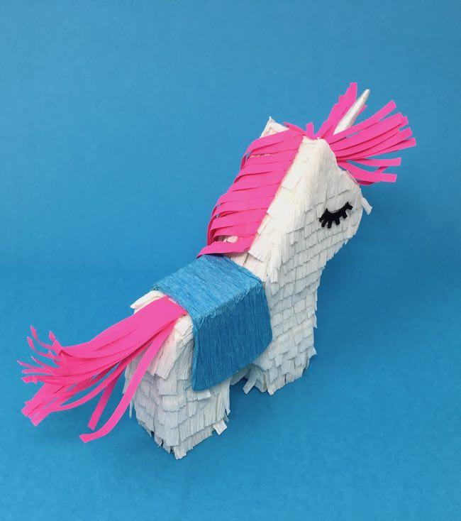 Back of mini unicorn mane