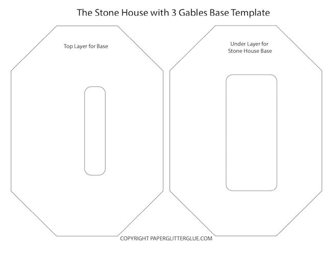 Base templates for cardboard base