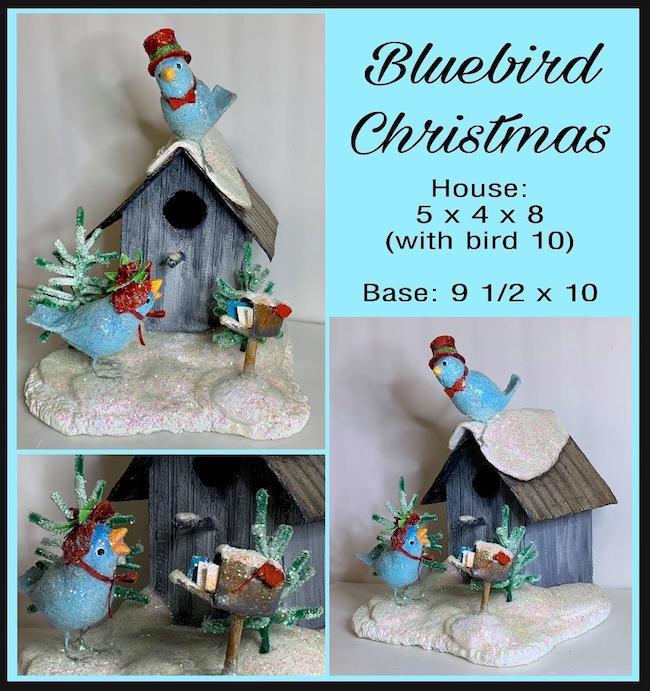 Bluebird Christmas Deb Flo
