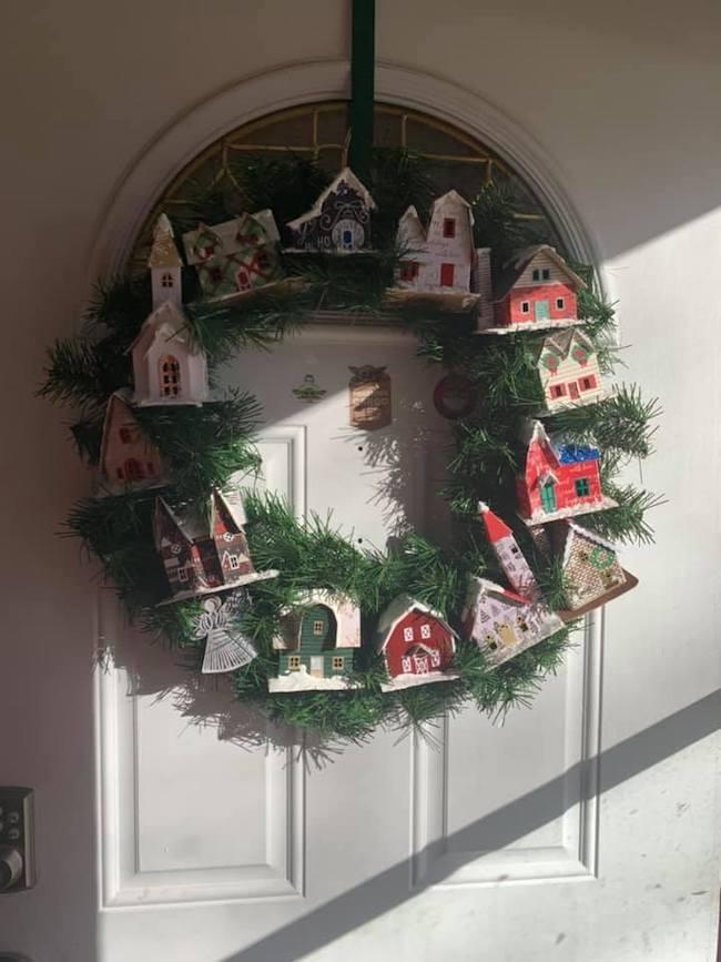 Christmas wreath Elizabeth