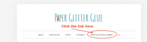 Click the libary link underneath the Paper Glitter Glue logo