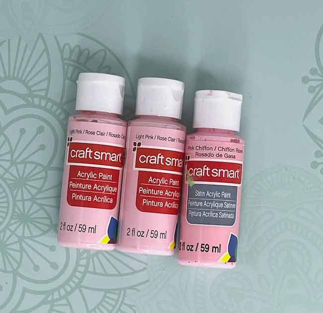 Craft Smart paint bottles