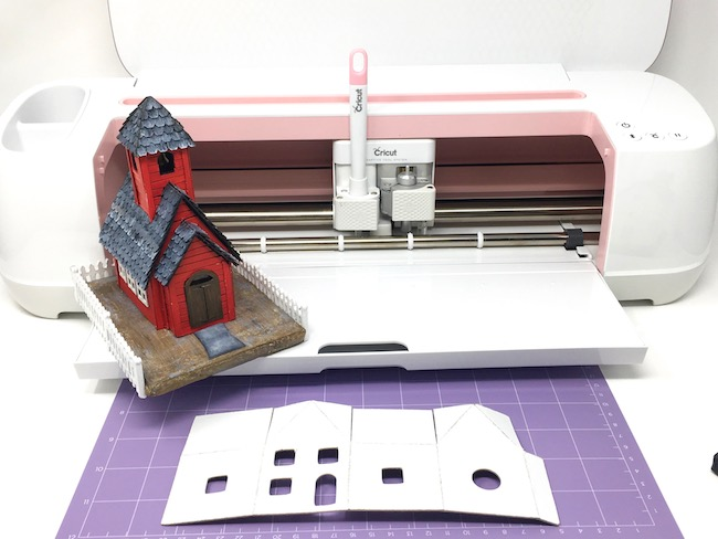 Cricut Maker and little red schoolhouse