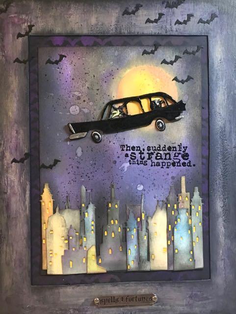 DIY Wall Art Halloween Wall Hanging