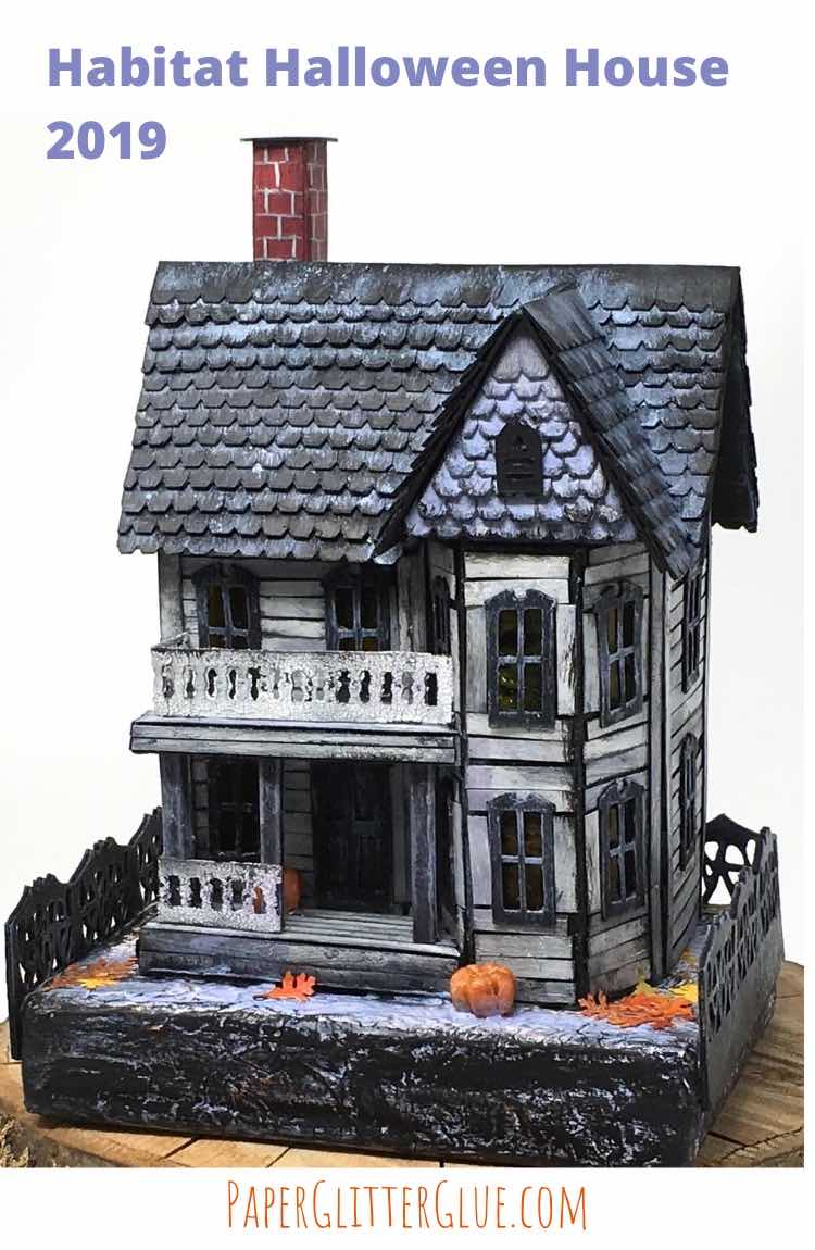 DIY Habitat Miniature Halloween House
