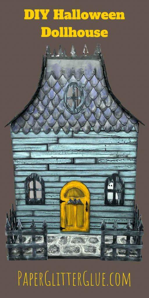 DIY Halloween Dollhouse