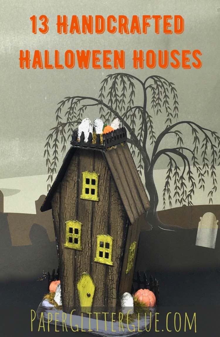 DIY Halloween house Drac halloween house