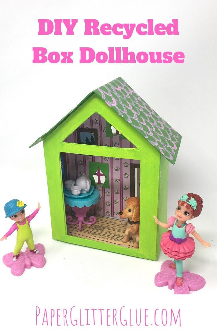 DIY Recycled Box Dollhouse