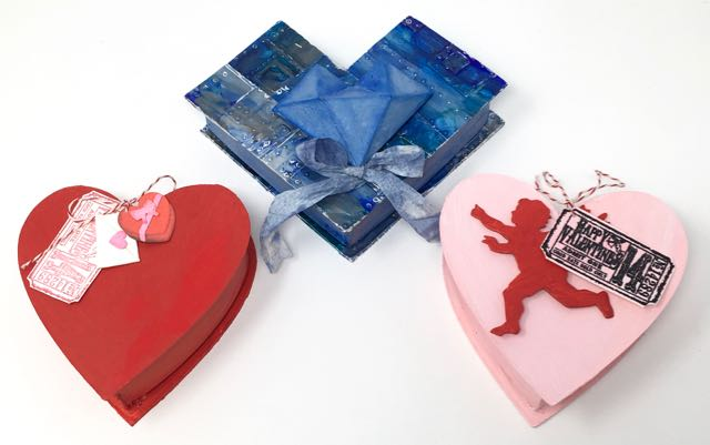 DIY heart shaped candy boxes easy to make