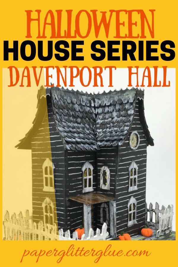 Davenport Hall 3-D Paper House