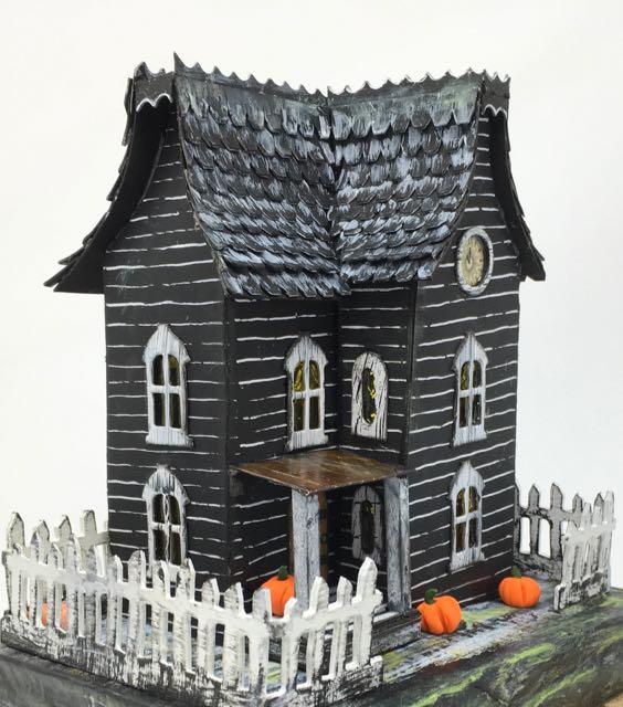 Davenport Hall Halloween house