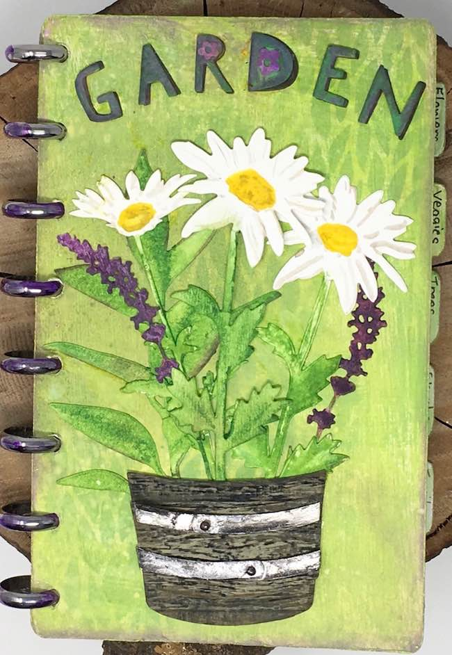 Cover of Disc Bound Garden Journal
