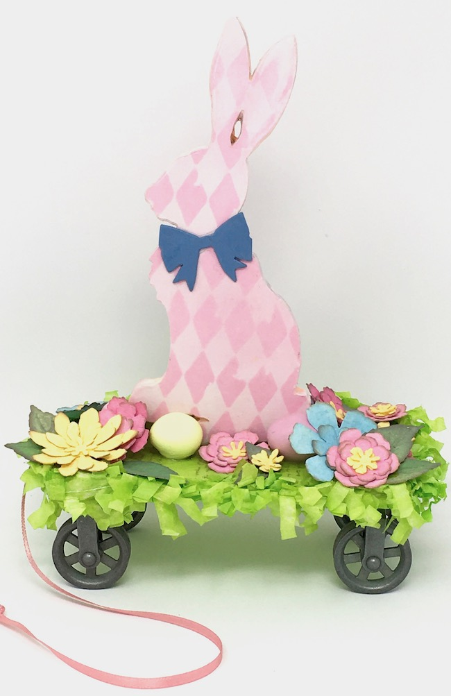 Easter Decoration Easter Bunny Pull Toy