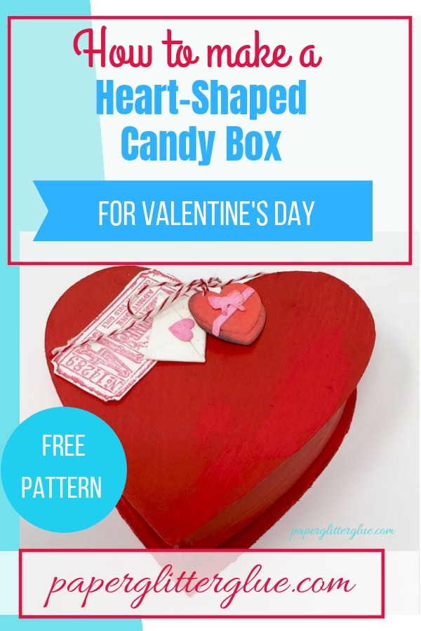 Easy Heart-Shaped Candy Box to make