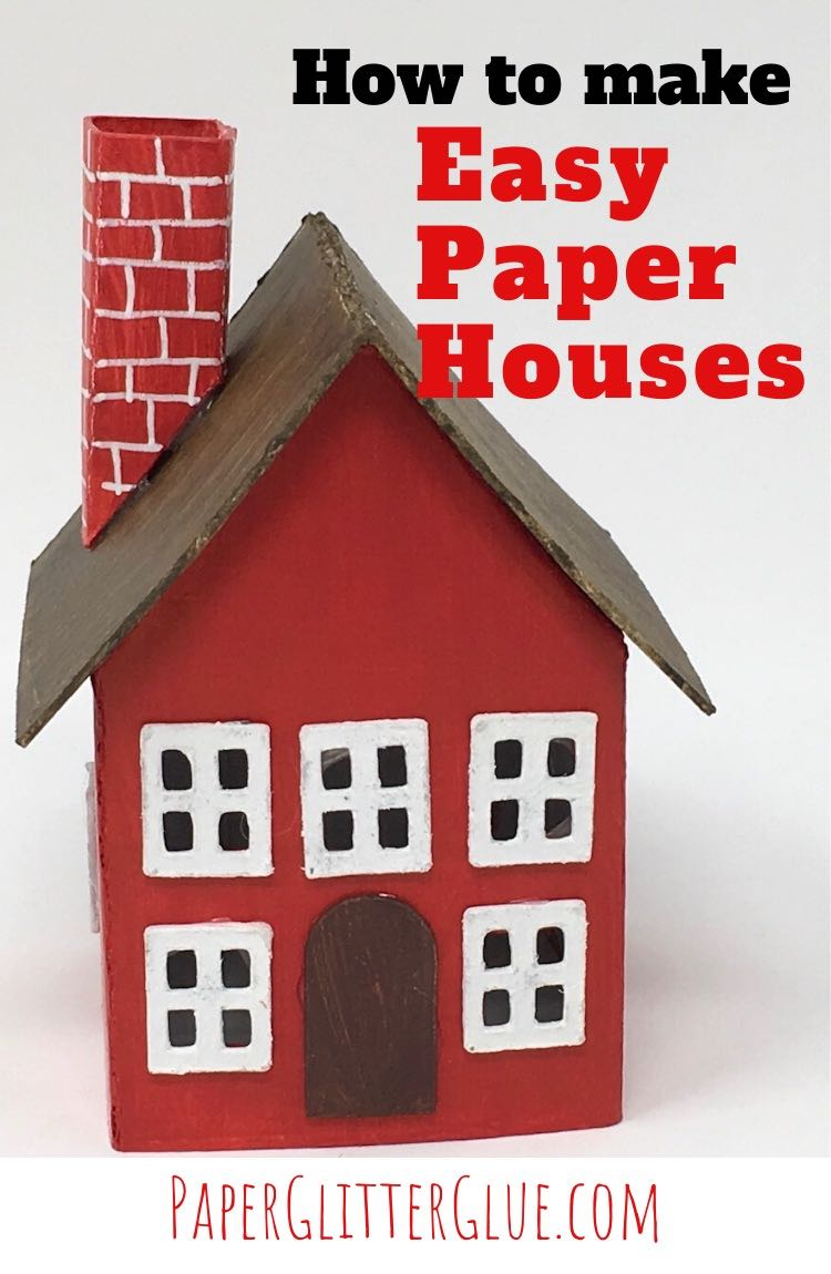 How to make Easy Paper Houses