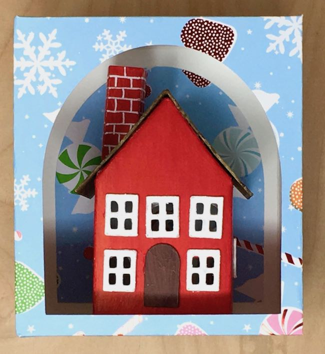 easy paper house as a gift