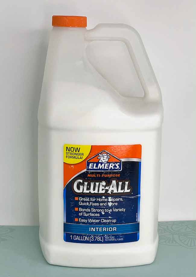 Elmer's Glue - large bottle for making houses