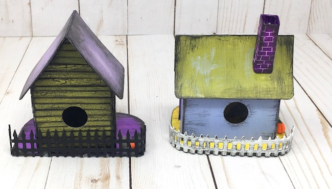 Fence options for the little Halloween Houses