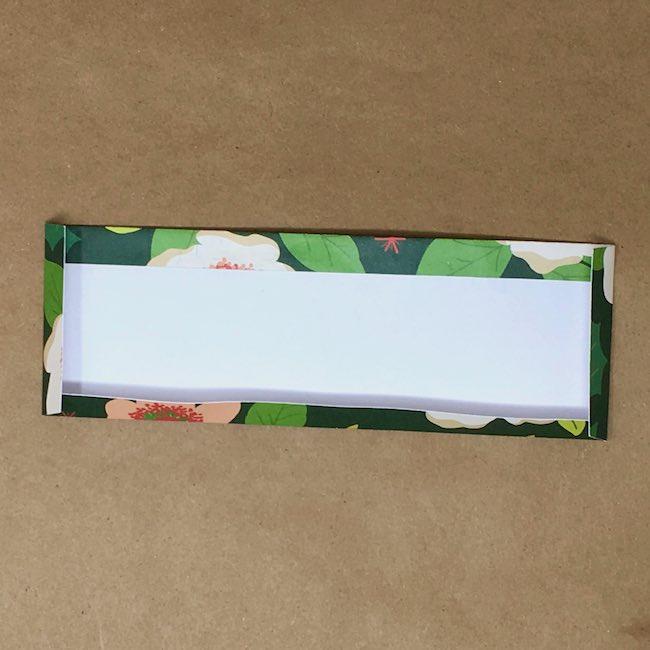 Fold scored edges to back