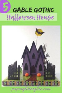 5 Gable Gothic Halloween House