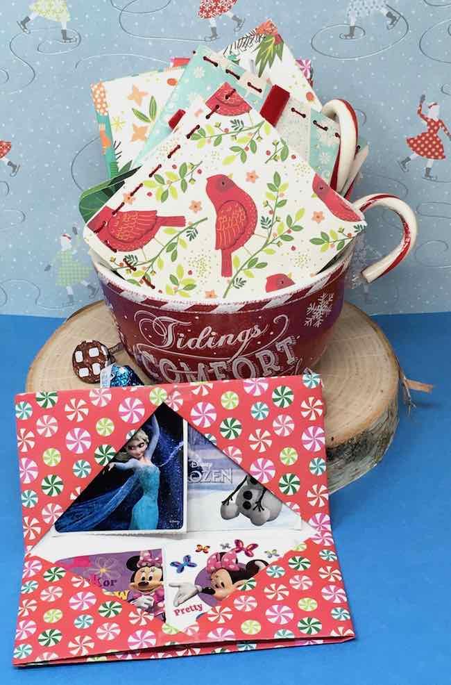 DIY Gift card wallets to make