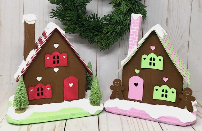 Gingerbread houses for Holiday Maker Fest