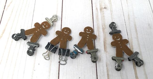 Gingerbread men for the little houses