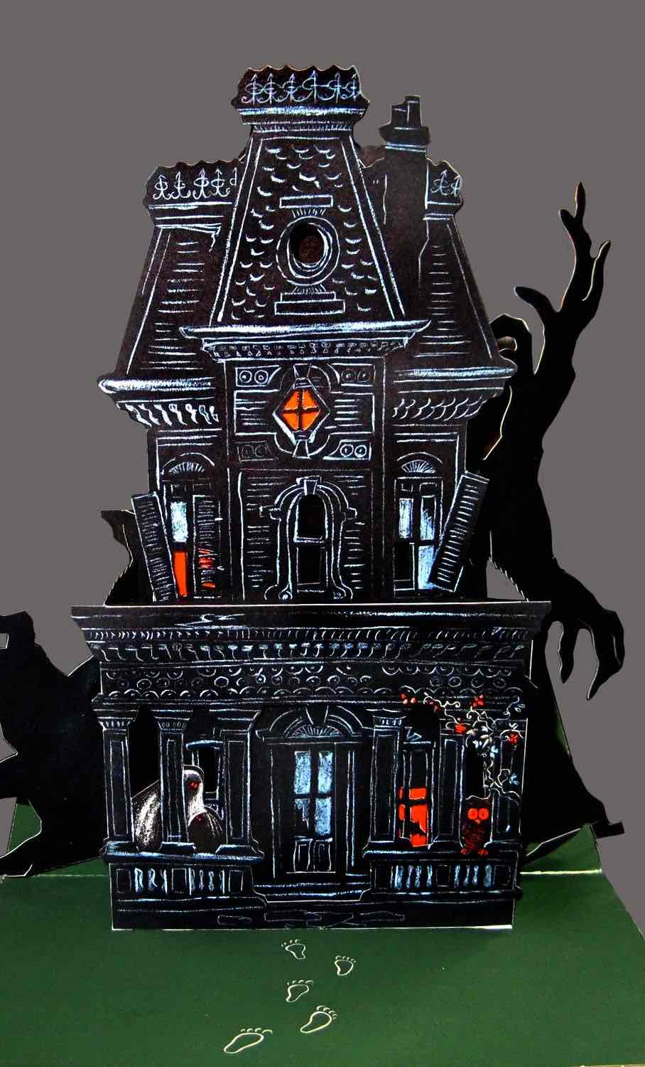 What's New in the Halloween House Series? - Paper Glitter Glue