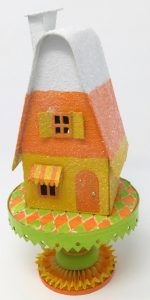 Candy Corn Putz House Free Pattern