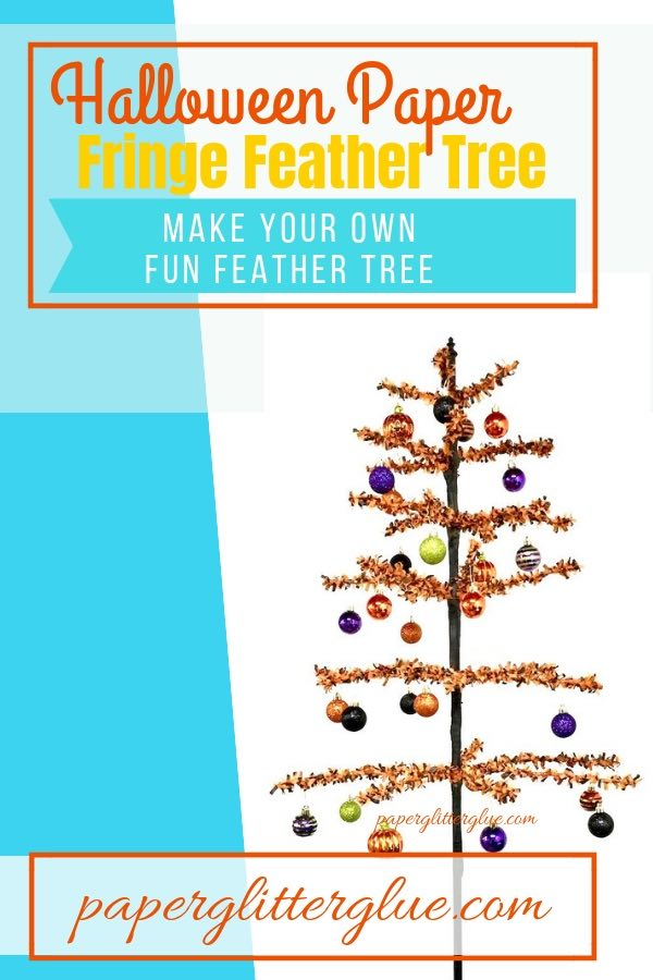 Halloween Feather tree make your own feather tree |DIY feather tree |holiday decor |