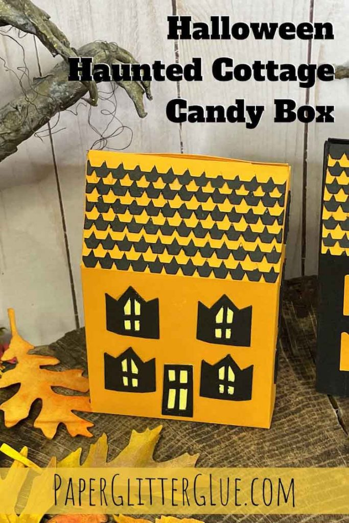 Halloween Haunted Cottage Candy Box