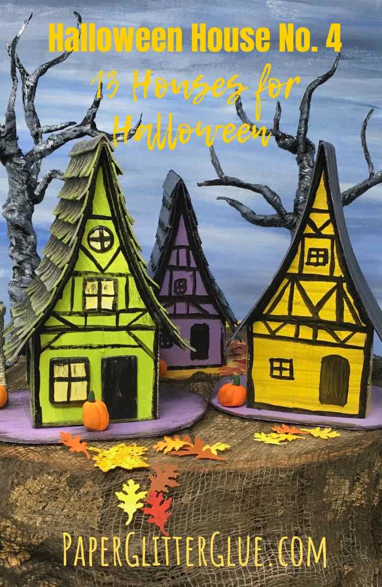 Halloween House No. 4 13 days of Halloween
