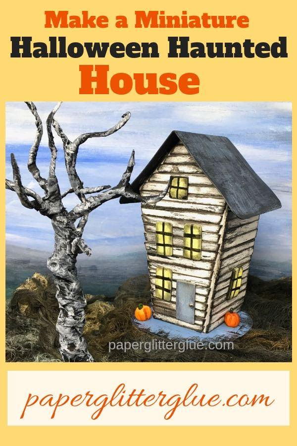 Make DIY Halloween House No. 6 free tutorial pattern