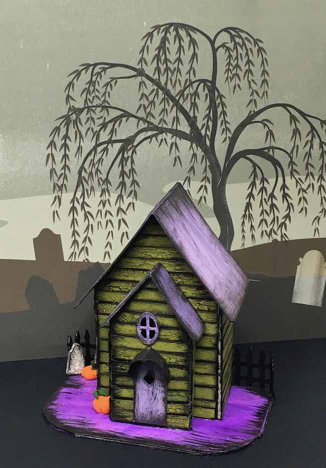 Halloween House Cassandra Halloween House